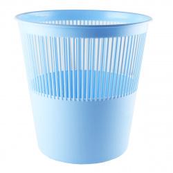 Корзина для бумаг 12л, пластик, сетчатый, форма круглая, цвет голубой Tukzar TZ 11824-15
