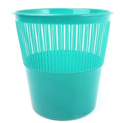 Корзина для бумаг 12л, пластик, сетчатый, форма круглая, цвет розовый Tukzar TZ 11824-16