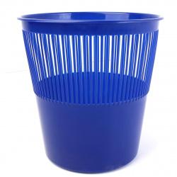 Корзина для бумаг 12л сетчатая Tukzar TZ 11824-12 синяя