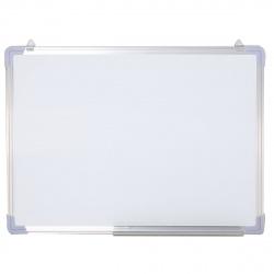 Доска магнитно-маркерная А2 (45*60см) алюминиевая рамка, полочка Attomex 6020700