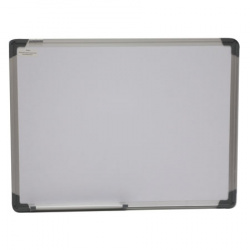 Доска магнитно-маркерная А2 (45*60см) алюминиевая рамка, полочка deVENTE 6020300