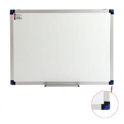 Доска магнитно-маркерная А2 (45*60см) алюминиевая рамка, полочка KLERK PREMIUM 200653
