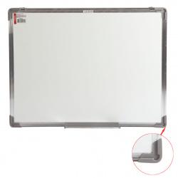 Доска магнитно-маркерная А2 (45*60см) алюминиевая рамка, полочка KLERK STANDARD 200654