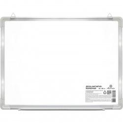 Доска магнитно-маркерная магнитно-маркерная, А2, 45*60см, рамка алюминиевая, настенная, полочка для маркеров Attomex 6020000