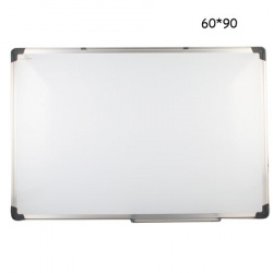 Доска магнитно-маркерная А1, 60*90см, рамка алюминиевая, настенная, полочка для маркеров deVENTE 6020301