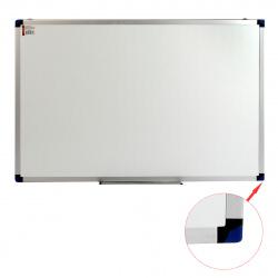 Доска магнитно-маркерная А1 (60*90см) алюминиевая рамка, полочка KLERK PREMIUM 200655