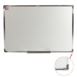 Доска магнитно-маркерная А0 (90*120см) алюминиевая рамка, полочка KLERK STANDARD 200658
