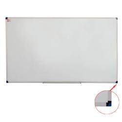 Доска магнитно-маркерная А0 (90*150см) алюминиевая рамка, полочка KLERK PREMIUM 200660