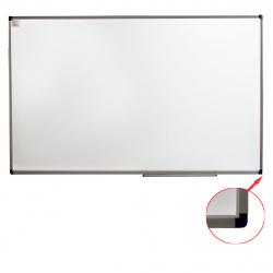 Доска магнитно-маркерная А0 (120*150см) алюминиевая рамка, полочка KLERK PREMIUM 200663