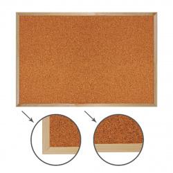 Доска пробковая А2 (40*60см) деревянная рамка Attomex 6030704