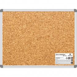 Доска пробковая А1, 45*60см, рамка алюминиевая, настенная Attomex 6030000