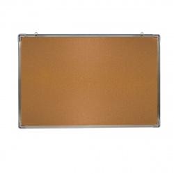 Доска пробковая А0 (90*120см) алюминиевая рамка KLERK 210148
