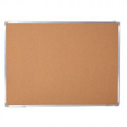 Доска пробковая А0 (90*120см) алюминиевая рамка Attomex 6030702