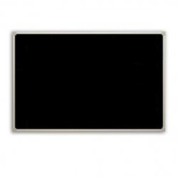 Доска для мела А2 (45*60см) алюминиевая рамка, полочка Attomex 6050801