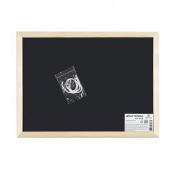 Доска для мела А3 (30*40см) деревяная рамка Attomex 6050803