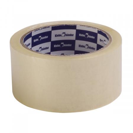 Лента упаковочная 50мм*57м, полипропилен, 45мкм, прозрачный Klebebander 127/128 - с доставкой в интернет-магазине Бумага-С