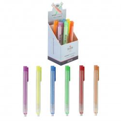 Ластик-карандаш 120*60*6 каучук держатель пластиковый Koh-i-noor 609736000002PS/C04798 ассорти 6 видов