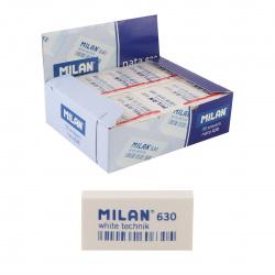 Ластик прямоугольный 40*20*10 Technic каучук Milan 630/973216 белый