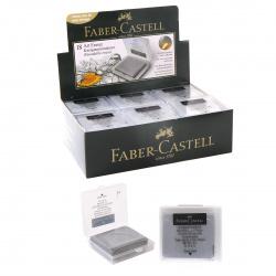 Ластик-клячка 40*32*9 каучук футляр пластиковый Faber-Castell 127220 черный