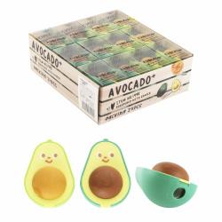 Точилка пластиковая 1 отверстие контейнер ластик Avocado TOCHAIN КОКОС 213614 ассорти