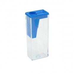 Точилка пластиковая 1 отверстие 20*58мм контейнер Faber-Castell 581526