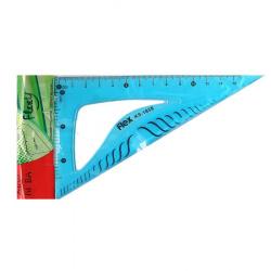 Треугольник пластик гибкий, 30 градусов, 13см, ассорти 4 вида КОКОС 211975 XIAO NI BA