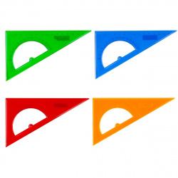 Треугольник 30*160 пластиковый Проф-Пресс Л-6209 ассорти 4 вида