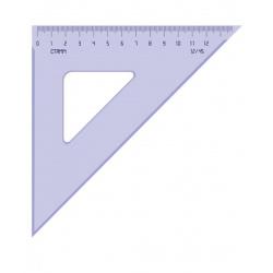 Треугольник 45*120 пластиковый Стамм ТК46 тонированный