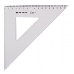 Треугольник 45*160 пластиковый Erich Krause Clear 41518