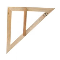 Треугольник для классной доски, дерево, 45 градусов, держатель Красная звезда С370