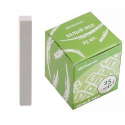 Мел белый 25шт d-12мм SchoolФОРМАТ МБ25-СФ картонная коробка