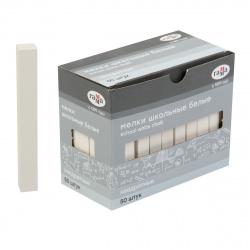 Мел белый 50шт d-10мм Гамма 2308196 картонная коробка