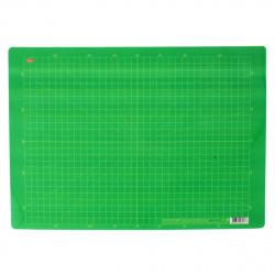 Доска для лепки А3 Hatber пластик 3PT_17451 зеленая в клеточку