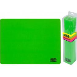 Коврик для лепки А3 deVENTE Monochrome силикон 8061013 неоновый зеленый