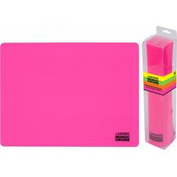 Коврик для лепки А3 deVENTE Monochrome силикон 8061011 неоновый розовый
