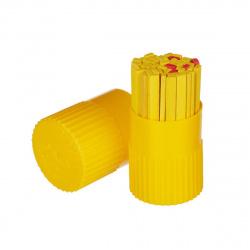 Счетные палочки 50шт деревянные Красная звезда С21 ассорти в пластиковом пенале