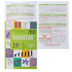 Справочник в таблицах Айрис-пресс А5 Биология 7-11 класс 25471