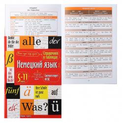 Справочник в таблицах Айрис-пресс Немецкий язык 5-11 классы 28323