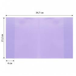 Обложка п/п 212*347мм 100мкм набор 12шт для тетр и дневников Erich Krause Fizzy Pastel 49915 ассорти