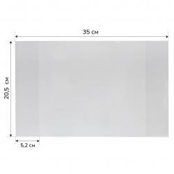 Обложка п/э 205*350мм 50мкм для тетрадей Т50-100