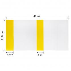 Обложка п/э 215*460мм для учеб универсальная цветн клапан У215