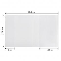 Обложка п/э 226*380мм для учеб универсальная клеевой край С226