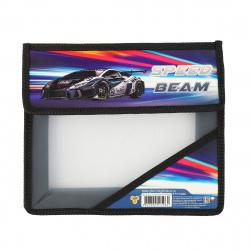 Папка для тетрадей А5 пластик липучка 2 отделения Мотоциклы будущего Пчелка ПМ-А5-36