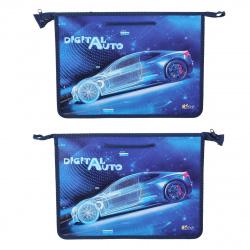 Сумка-портфель пластиковая с ручками 24*34*4 молния Digital auto Оникс ПТ-15 62127