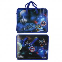 Сумка-портфель пластиковая с ручками 26*33*8 молния Mars Expedition deVENTE 8053053