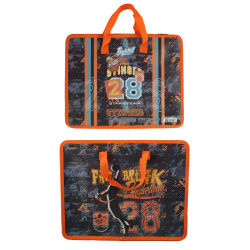 Сумка-портфель пластиковая с ручками 26*33*8 молния Basketball deVENTE 8053057