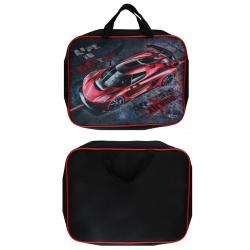 Сумка-портфель ткань с ручками 26*34*7 молния Менеджер Красная машина ПМД 4-20 61984