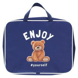 Сумка-портфель ткань с ручками 26*34*2 молния Менеджер deVENTE 3075602 красн