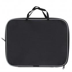 Сумка-портфель ткань с ручками 26*34*2 молния Менеджер deVENTE 3075600 черн