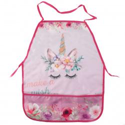 Фартук для труда полиэстер, 390*490мм, карманы, для девочек Magic dream Пчелка ФДТ-3